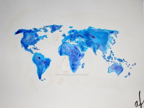 Map of The World by stuff73920147