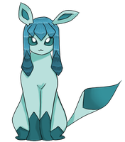 Glaceon ^^ by ExplodingPandaz
