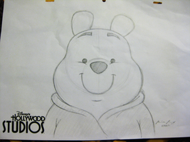Pooh Bear by mirzers
