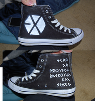 EXO shoes by threatened-angel