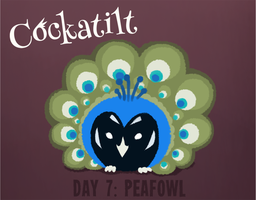 Birdstarter Day 7: Peafowl by Furrama