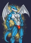 XVeemon commissh by X-Buimon-Sama