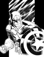 Captain America by csmithart
