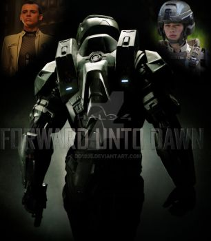 Second Halo 4 Poster Attempt by dd1995