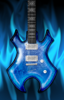 B.C. Rich Virgo by HellHoundx666