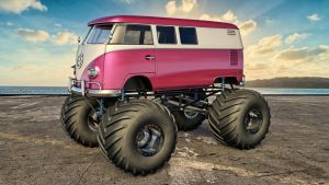 VW Monster Camper by SamCurry