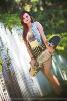 Little skater girl by 904PhotoPhactory