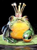 Frogking by mskyDOTtv