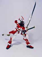 MG 1/100 MBF-P02 Astray Red Frame by aryss-skahara