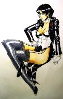 Zee pin-up(colour) by AaronNSN
