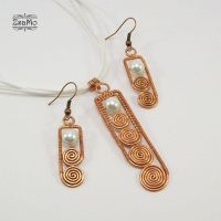 Swirly Stick Set - copper by Zsamo