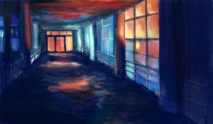 Lemaire Hospital- Ref Painting by micehell