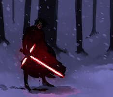 kylo by wiccimm