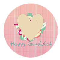 Happy Sandwich by helencamui
