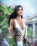 A Priestess of the temple of.. by lathander1987