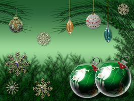 Christmas Green 2008 by Frankief