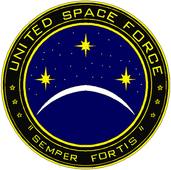 United Space Force Patch by seventhfleet