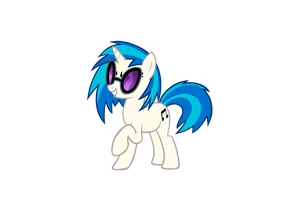 Vinyl Scratch Request by broneill95