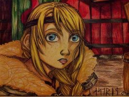 Astrid HTTYD 2 by Millie-Rose13