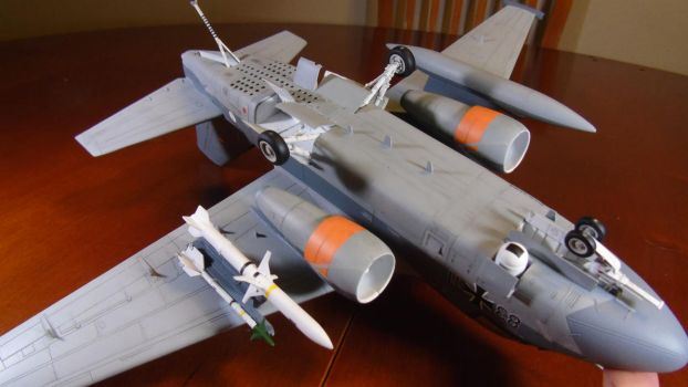 1/48 Scale S-3GC Viking (belly and weapons) by Coffeebean2