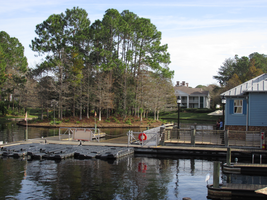 Water Dock at Riverside Resort by WDWParksGal-Stock