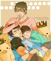 SouMako (+Makotos Brothers) by LadyNamy