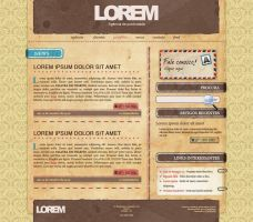 Layout - Vintage Paper by canha