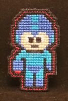 Mega Man by NerdyCatCrafts