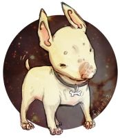 bulterrier by Fukari