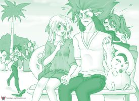 OTP 4: On A Date by red-winged-angel