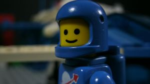 Lego Blue Classic Spaceman. by starwars98