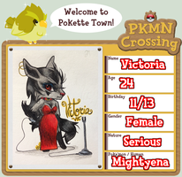 PKMN-Crossing: Victoria by waxwiing