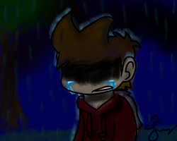 Tord crying by DisentawerStudiosX3