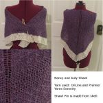 Nancy and Judy Shawl by Nerds-and-Corsets