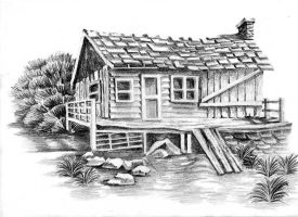 Cottage by Kailzie-Erskine