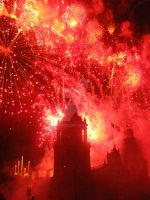 Catedral in Fire by XiuhTiger