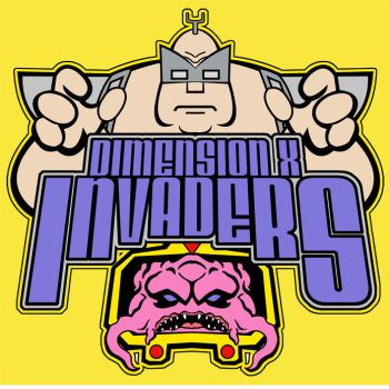 Dimension X Invaders logo by TKrohne13
