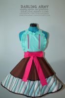 Vanellope -Wreck-it Ralph- Cosplay Pinafore by DarlingArmy