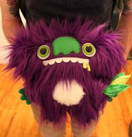 Custom Purple Koala by loveandasandwich