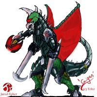 Go G: Gigan by Vagrant-Verse
