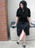 gothic lady 9 by PhoeebStock