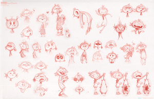 Character Study Sketches by Channel-Square