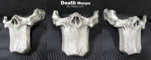 Death Menpo Half Mask by Uratz-Studios