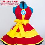 Iron Man Cosplay Pinafore Dress Accessory by DarlingArmy