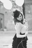 White Ballons by FDLphoto