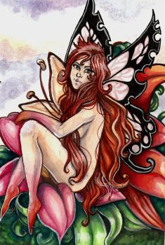 Lily Fairy by LissyRaine