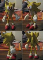 Clay Super Sonic by Wakeangel2001