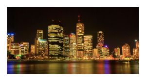 Brisbane City by Cameron-Jung