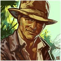 Indiana Jones by ChristianNauck