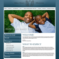 Allan Abney Ministries - Site by AreoX